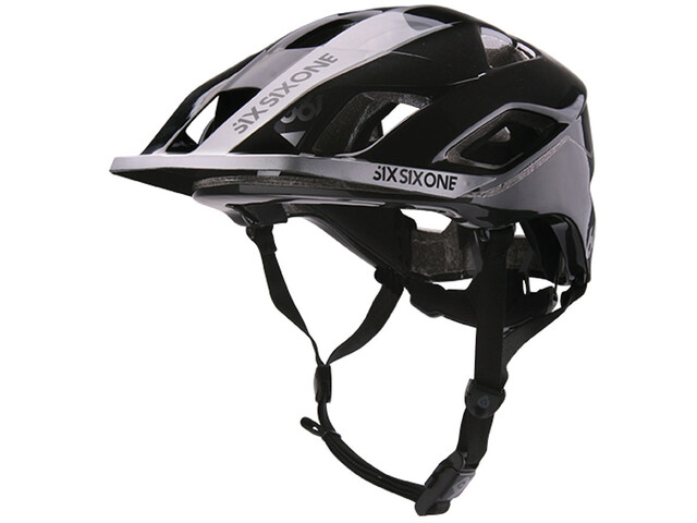 SixSixOne EVO AM Cykelhjelm, metallic black